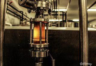 Kontrola čírosti sladinky cez prietokomer sviečky